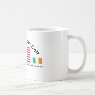 The American Celt Classic White Coffee Mug