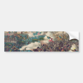 The American Civil War Battle of Pea Ridge 1862 Car Bumper Sticker