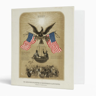 The American Declaration of Independence 1861 3 Ring Binder