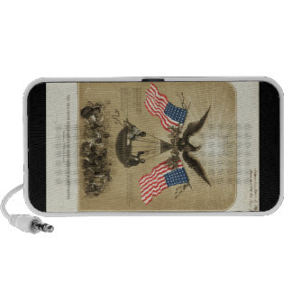 The American Declaration of Independence 1861 PC Speakers