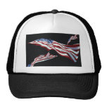 The American Flag - Blown in the Wind Trucker Hat
