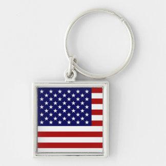 The American Flag Keychain