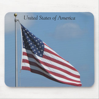 The American Flag Mouse Pad