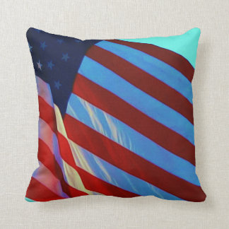 The American Flag Throw Pillows