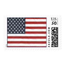The American Flag Postage