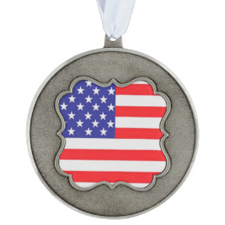 The American Flag - Stars and Stripes Ornament