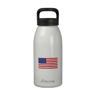 The American Flag Reusable Water Bottle