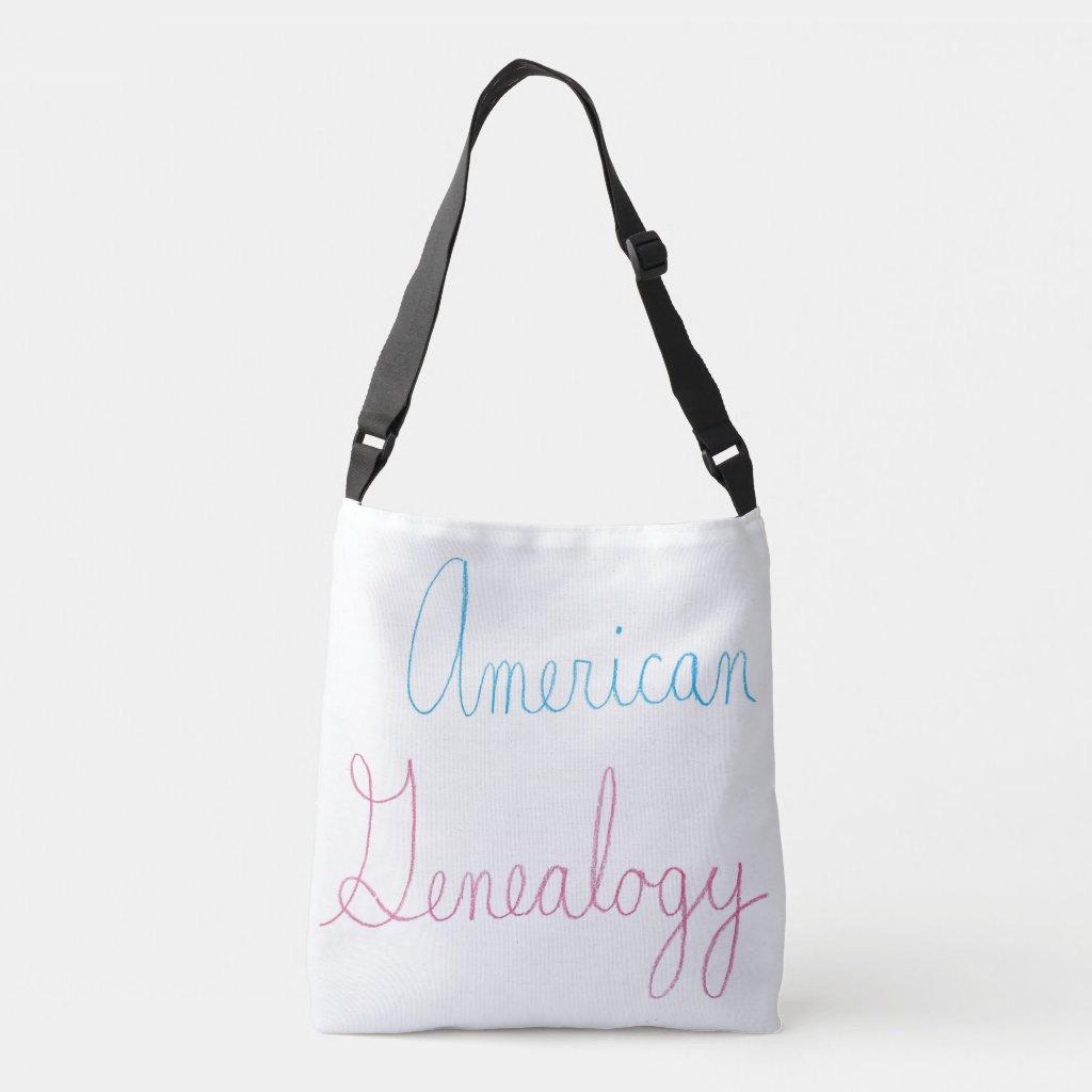 The American Genealogy Cursive Tote Bag