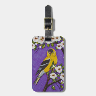 The American Goldfinch Travel Bag Tag
