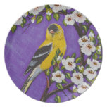 The American Goldfinch Plates