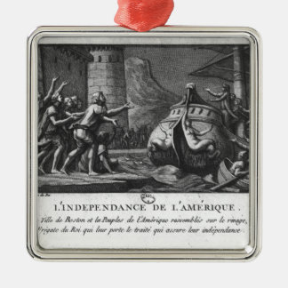 The American Independence Metal Ornament