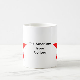 The American Issue Culture Star Red Coffee Mug
