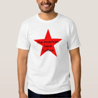 The American Issue Culture Star Red T Shirt
