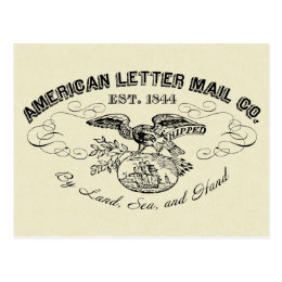 The American Letter Mail Company  Postcard