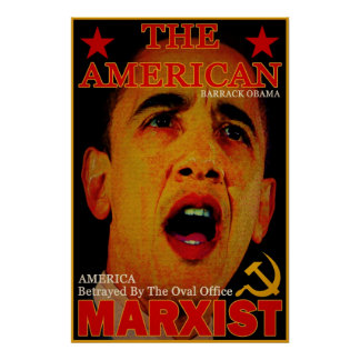 The American Marxist Poster