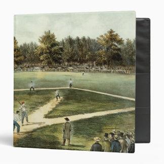 The American National Game of Baseball 3 Ring Binder