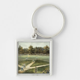 The American National Game of Baseball Key Chains