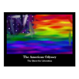 The American Odyssey Postcard
