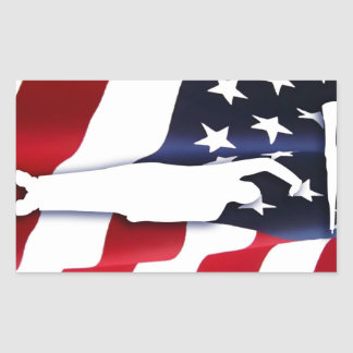 The American Patriot Driller Sticker