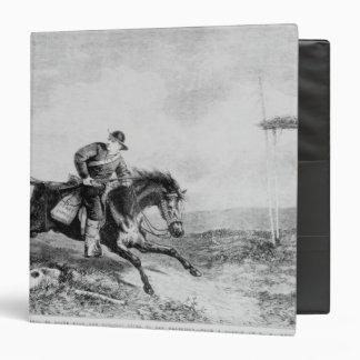 The American Pony Express Vinyl Binder