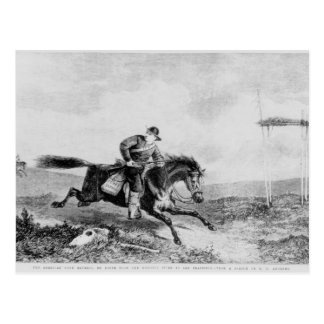 The American Pony Express Postcard