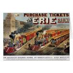 The American Railway Scene at Hornellsville Card