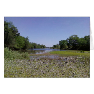 The American River in Sacramento,CA Greeting Card