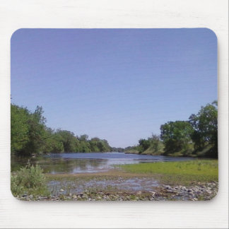 The American River Sacramento,CA Mouse Pad