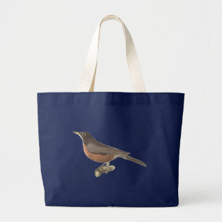 The American Robin(Merula migratoria) Canvas Bags