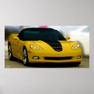 THE AMERICAN SPORTS CAR: CORVETTE POSTERS