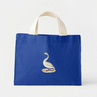 The American Swan(Cygnus americanus) Mini Tote Bag