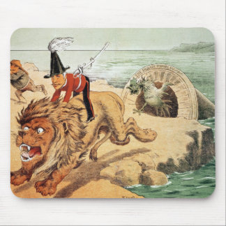 The American view of the Channel Tunnel Scare, Mouse Pad