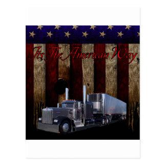 The American Way Postcard