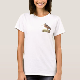 The American Woodcock	(Rusticola minor) T-Shirt