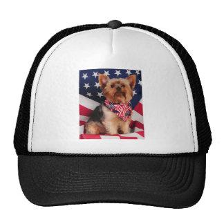 The American Yorkie Trucker Hat