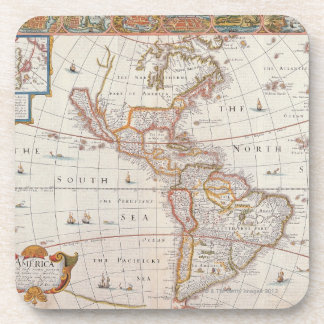 The Americas 3 Beverage Coaster