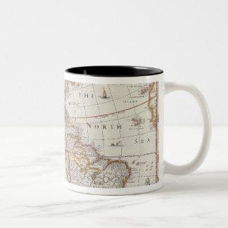 The Americas 3 Two-Tone Coffee Mug