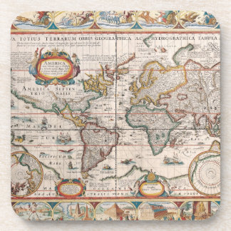 The Americas 4 Drink Coaster