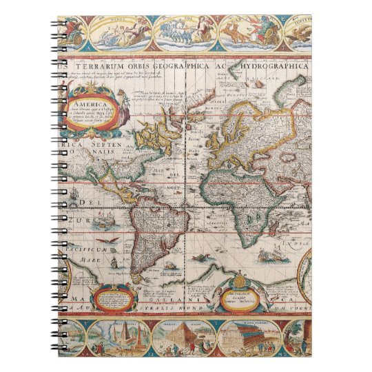 The Americas 4 Notebook