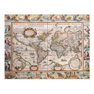 The Americas 4 Postcard