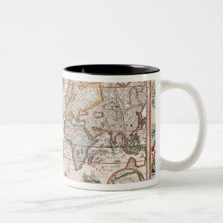 The Americas 4 Two-Tone Coffee Mug