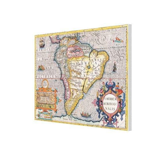 The Americas 5 Canvas Print