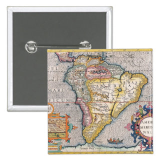 The Americas 5 Pinback Button