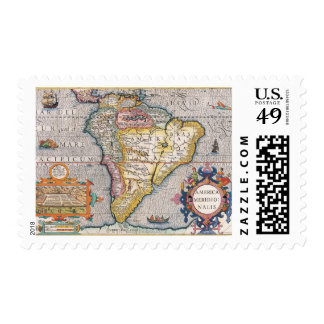 The Americas 5 Postage Stamp
