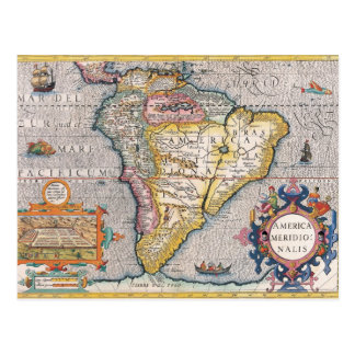 The Americas 5 Postcard