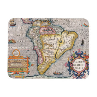 The Americas 5 Rectangular Photo Magnet