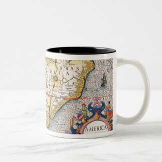The Americas 5 Two-Tone Coffee Mug