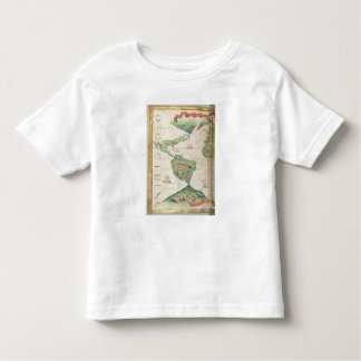 The Americas, detail from world atlas, 1565 Toddler T-shirt