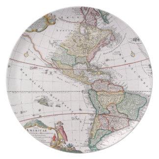 The Americas Dinner Plate