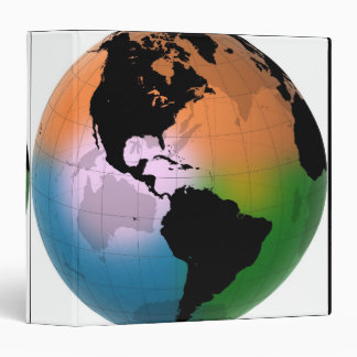 The Americas Ocean Current Map Binder